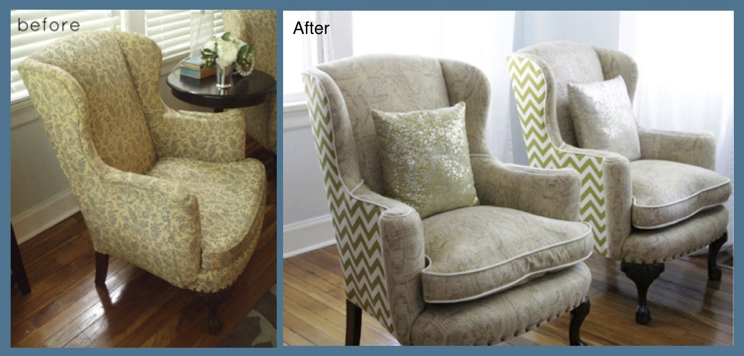 Reupholstery newsletter accent copy